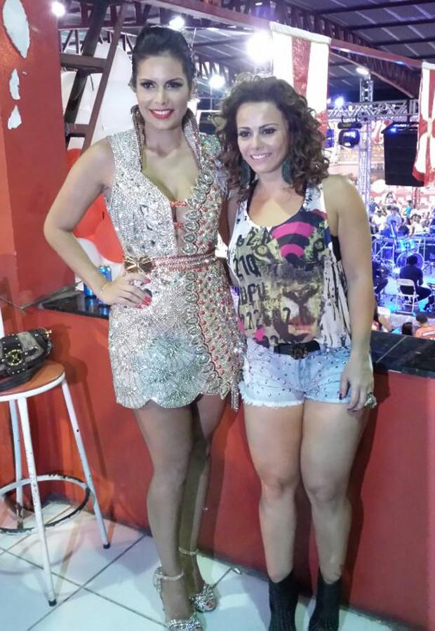 Raíssa Machado e Viviane Araújo (Foto: Divulgação)