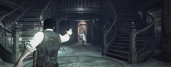 The Evil Within: Demo da BGS tem como cenário uma mansão. Seria uma alusão à Resident Evil? (Foto: Divulgação)