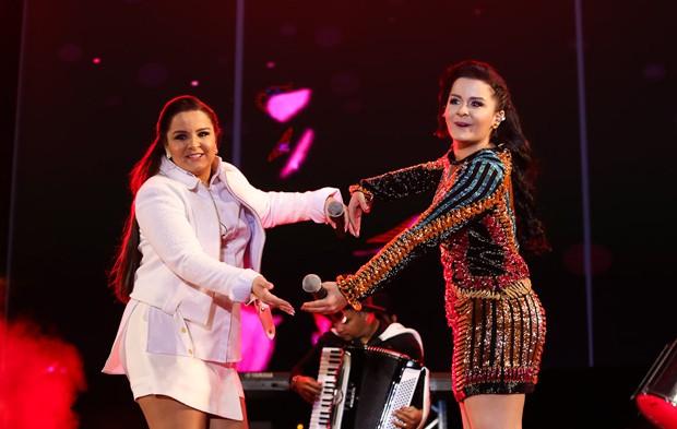 Maiara e Maraisa se apresentam em São Paulo (Foto: Cláudio Augusto/Brazil News)