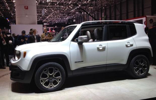Jeep Renegade 2015 (Foto: Aline Magalhães)