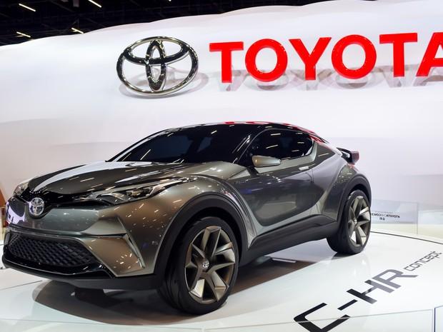 O conceito C-RH da Toyota é visto no Salão do Automóvel de São Paulo 2016 (Foto: Flavio Moraes/G1)