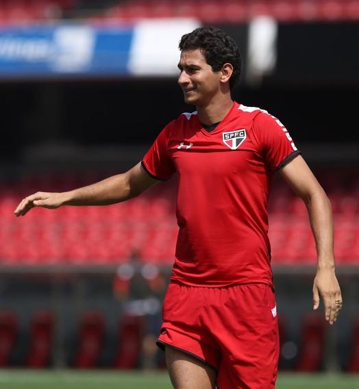 ganso é (quase) seleção (Rubens Chiri / site oficial do São Paulo FC)