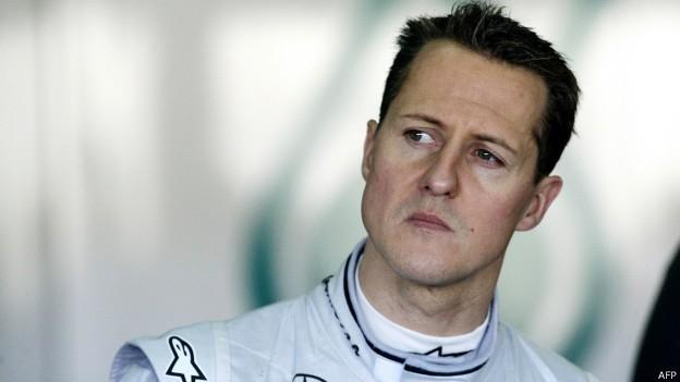 Michael Schumacher (Foto: BBC/AFP)