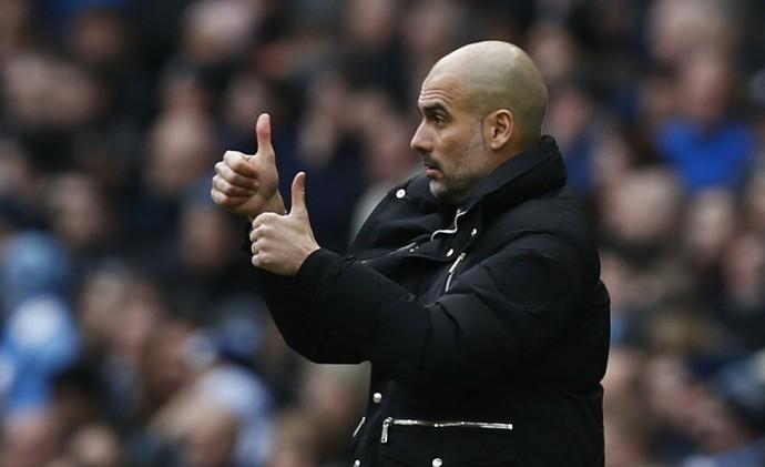 Pep Guardiola Manchester City Swansea (Foto: Reuters)