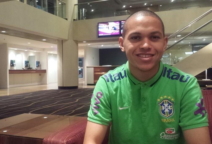 Marcos Guilherme Brasil sub-20 (Foto: Felipe Schmidt)
