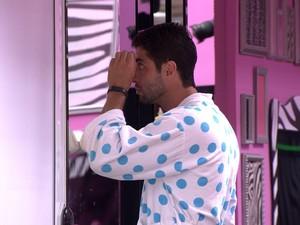 BBB às 11h39m do dia 01/03. (Foto: Big Brother Brasil)