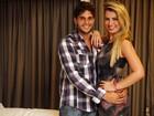 Ex-BBBs Fernanda e André posam em clima de romance: 'Estamos juntos'