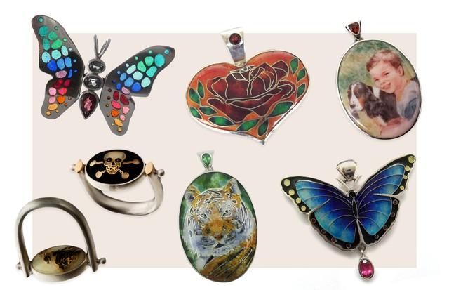 Exposição de joias autorais mostra talento de designers brasileiras (Foto: Divulgação)