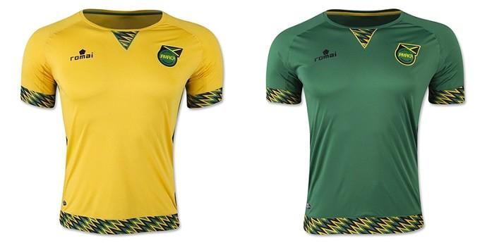 Camisa Jamaica Copa América Centenario