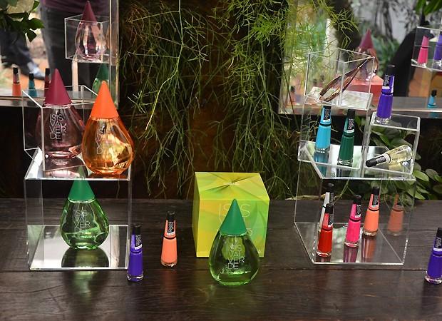 Os produtos de Isis Valverde em parceria com a Mundial Impala (Foto: AG News)