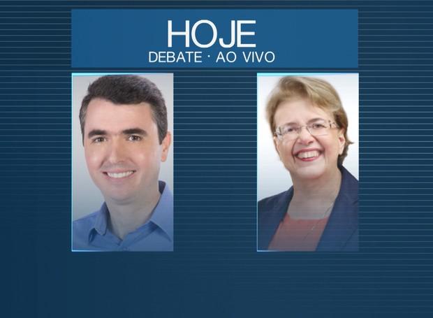 Debate acontece nesta sexta-feira na tela da TV Integração (Foto: Divulgação)