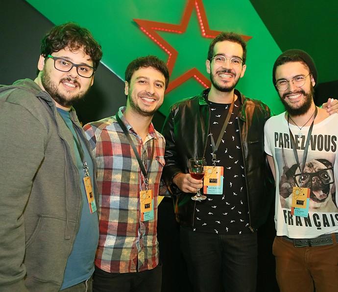 Participantes do Globo Lab trocam ideias em momento de descontração  (Foto: Gianne Carvalho/TV Globo )