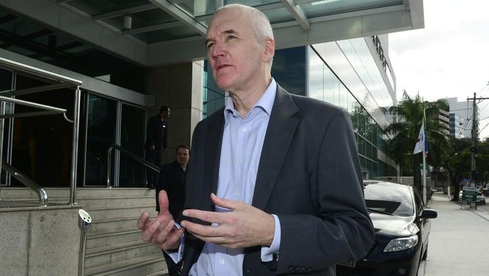 Patrick Lawless, embaixador da Austrália no Brasil (Foto: Ricardo Medeiros/A Gazeta)