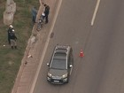 BH - 7h30: Motociclista fica ferido em acidente no Anel Rodoviário