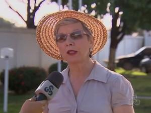 Secretária Adjunta de Educação, Ana Lúcia Furlan (Foto: Reprodução/TV Amapá)