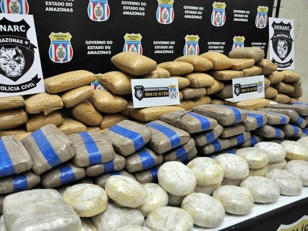 Suspeito mantinha galpão para guardar entorpecentes (Foto: Erlon Rodrigues/Polícia Civil)