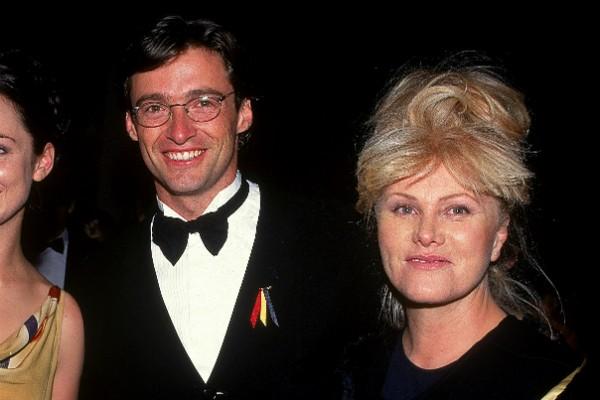 O ator Hugh Jackman e a esposa, a atriz Deborra-Lee Furness (Foto: Getty Images)
