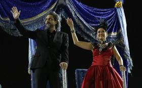 Lilia Cabral, Alexandre Nero e Leandra Leal gravam mais uma vez no Sambódromo