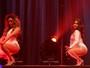 Integrantes do Fifth Harmony vão até o chão em show no Rio