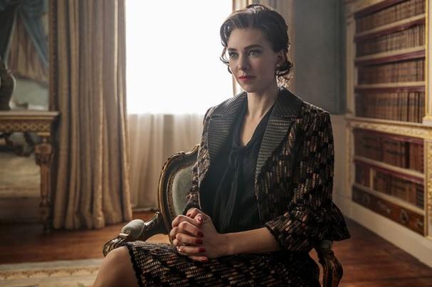 Vanessa Kirby em The Crown (Foto: Divulgação)