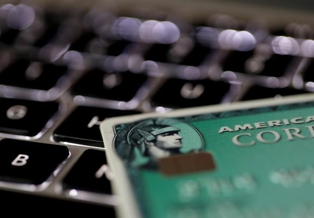 Cartão da American Express (Foto: Philippe Wojazer/Reuters)