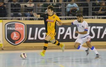 Sorocaba vence o Grêmio Mogi e segue 100% na Liga Paulista de Futsal