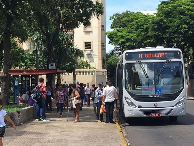 Processo de licitação do transporte coletivo deve estar concluído em 90 dias (Foto: Mariane Peres/G1)