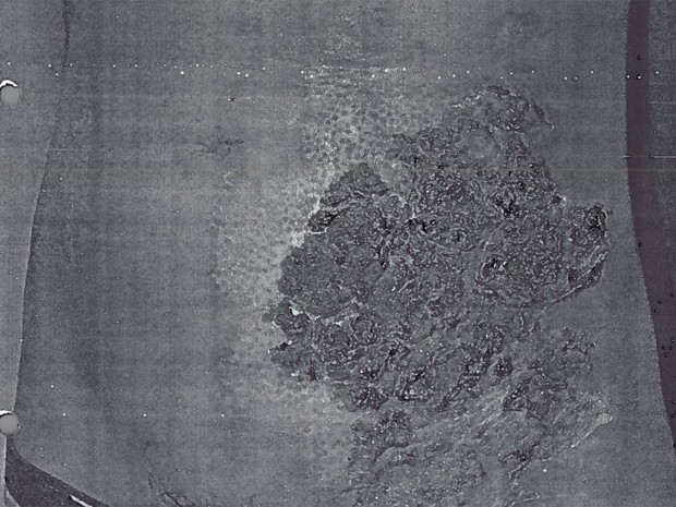 Chinês foi encontrado com grande ferimento na região abdominal (Foto: Divulgação / MPT)