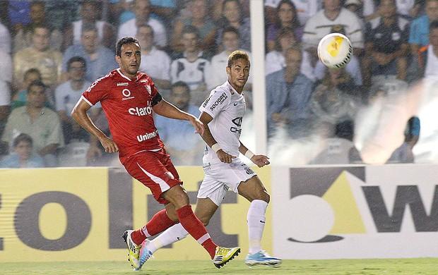 Neymar jogo Santos Mogi Mirim  (Foto: Lucas Baptista / Futura Press)