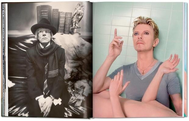 David Bowie é outros dos retratados (Foto: Divulgação)
