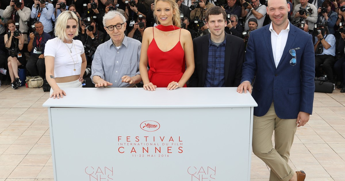 c10a8dfa0a G1 - Cannes  Woody Allen diz que filmou  Café Society  como um romance -  notícias em Cinema