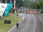 Marcha das Mulheres rene 5 mil na Cpula dos Povos, no Aterro