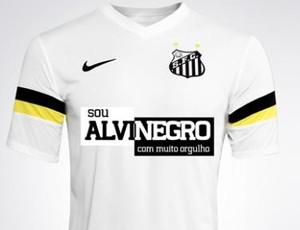 Camisa Santos racismo (Foto: Divulgação / Santos FC )