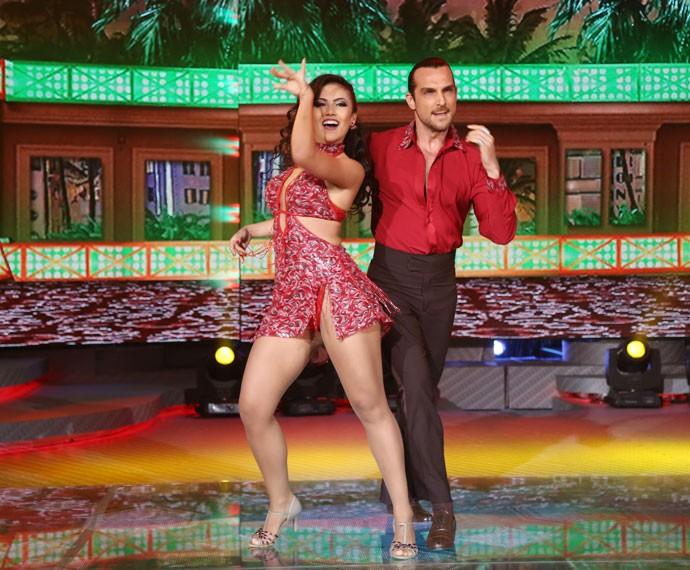 Igor e e Suellem arrasam na Dança dos Famosos (Foto: Carol Caminha/Gshow)