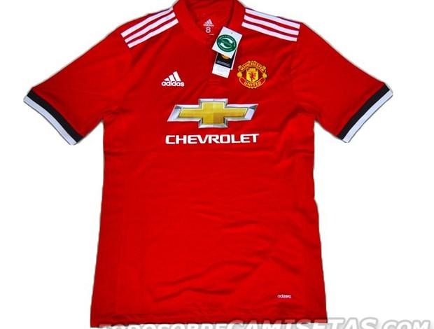 Nova camisa Manchester United