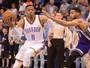Thunder vence fácil, mas Westbrook fica a dois rebotes de outro triplo-duplo