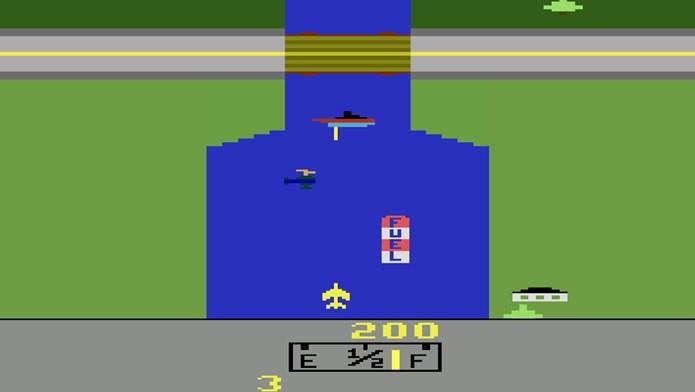 Pontes eram o Checkpoint de River Raid (Foto: Reprodução / Google Play)