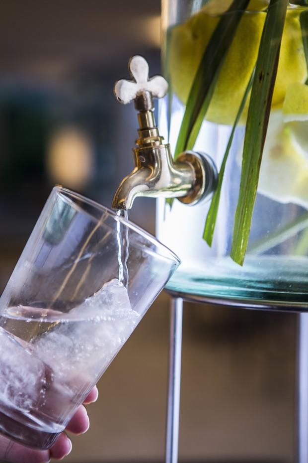 Água saborizada (Foto: Ricardo D'Angelo)