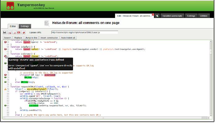 Extensão para Chrome te ajuda a descobrir quem parou de te seguir (Foto: Reprodução/Tampermonkey)