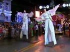Parada de Natal faz reapresentação ao público de São João da Boa Vista