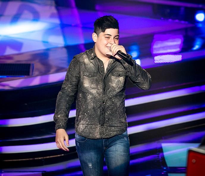 João Vitor brilhou com o sertanejo no The Voice Kids (Foto: Isabella Pinheiro/Gshow)