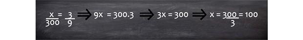 regra de três 5 (Foto: telecurso)