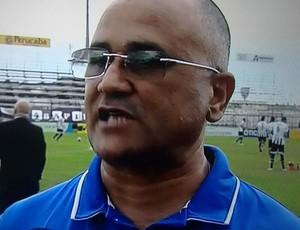 Técnico do CSA, Oliveira Canindé - ASA x CSA (Foto: Reprodução/TV Gazeta)