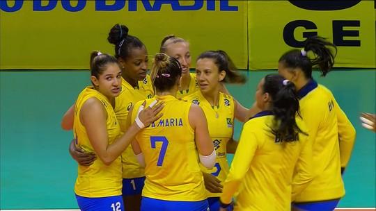 Em noite de Natália, Brasil vence Polônia no 1º amistoso entre as seleções