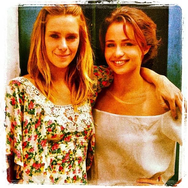 Carolina Dieckmann e Nanda Costa (Foto: Instagram / Reprodução)