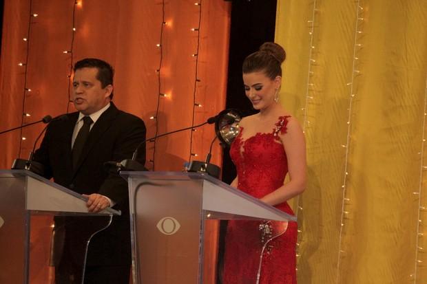 Rayanne Morais no concurso Miss Universo RJ (Foto: Anderson Borde/Ag News)