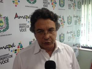 Helvécio Magalhães, secretário de atenção à saúde do Ministério da Saúde (Foto: John Pacheco/G1)