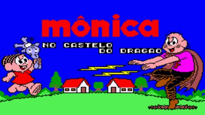 Mônica no Castelo do Dragão para Master System originalmente era um jogo chamado Wonder Boy in Monster Land (Foto: Reprodução/Alvanista)