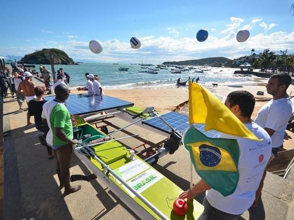 Etapa realizada em Búzios (RJ) (Foto: Divulgação/Maze Mixo)