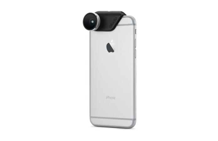 Olloclip é uma lente exclusiva para iPhones (Foto: Divulgação) (Foto: Olloclip é uma lente exclusiva para iPhones (Foto: Divulgação))